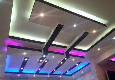 بازسازی سقف و اجرای سقف مربع