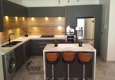 بازسازی آشپزخانه منزل