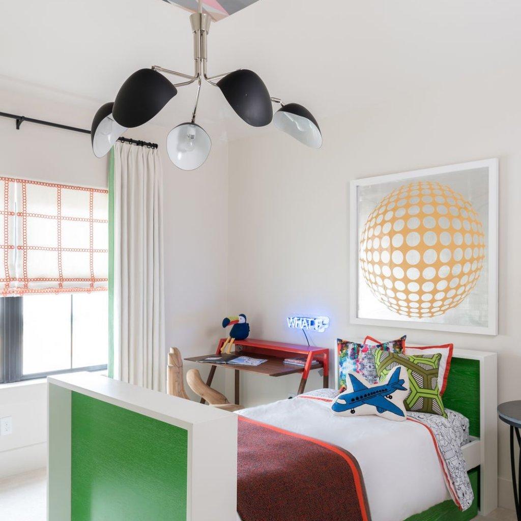 کاغذ دیواری سقفی اتاق خواب پسرانه