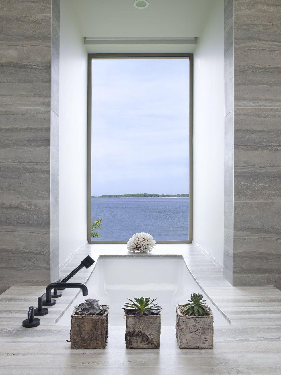 حمام لوکس با منظره بهیک واحه