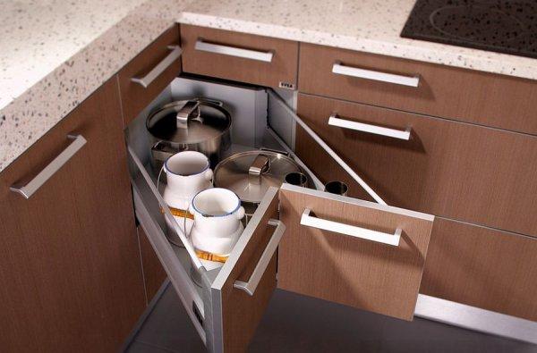 کابینت کنج آشپزخانه
