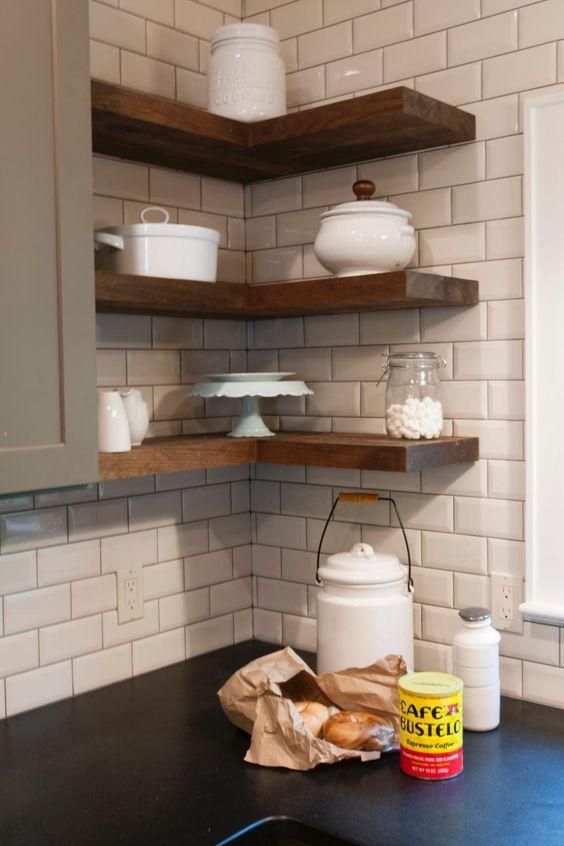 شلف کنج آشپزخانه