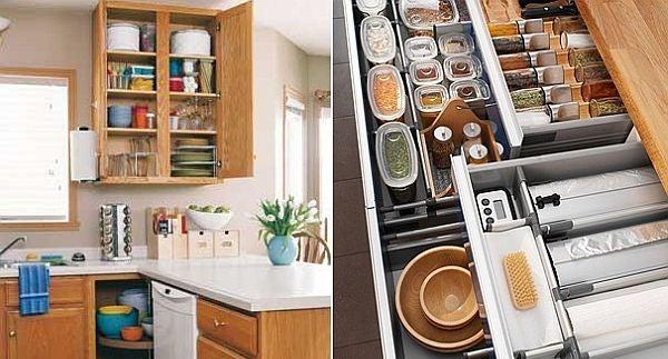 آموزش چیدمان ظروف در کابینت به بهترین شکل