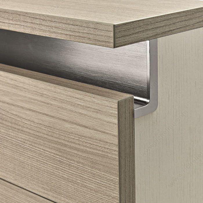 دستگیره مخفی پروفیلی پنهان در درب کابینت