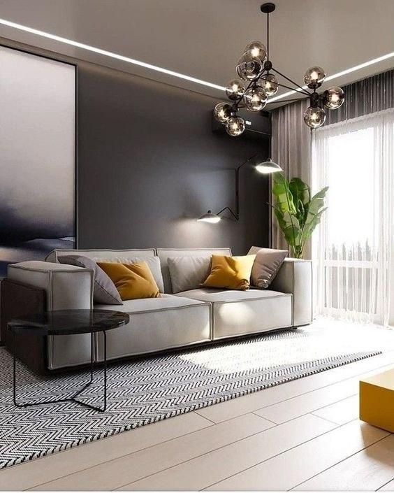 ایده های جذاب دکوراسیون رنگ تاپه در منزل
