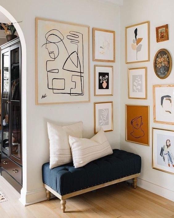 تاثیر دکوراسیون دیوار در روح بخشی به فضای خانه