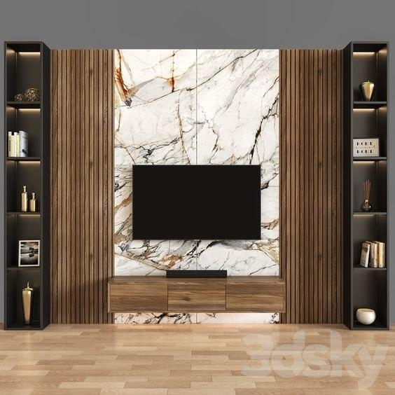 ترکیب سنگ و چوب و ساختن فضای شیک و مدرن
