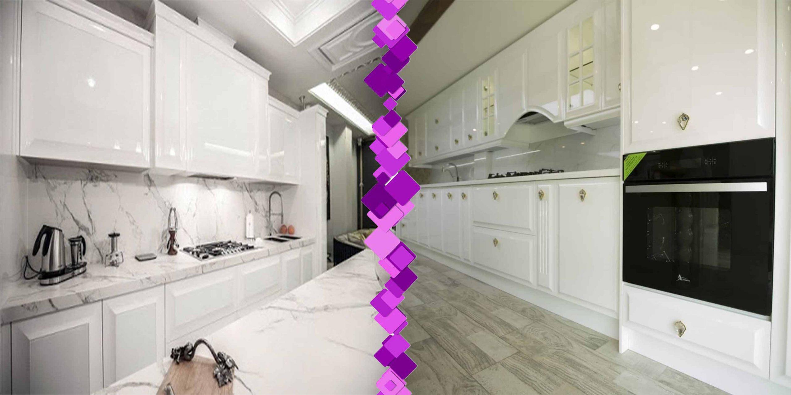بهترین کابینت آشپزخانه انزو