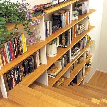 جدیدترین مدل کتابخانه چوبی خانگی دکوراتیو زیبا
