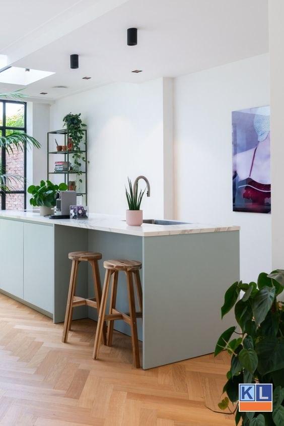 جدیدترین مدل های کفپوش ویینل در آشپزخانه مدرن