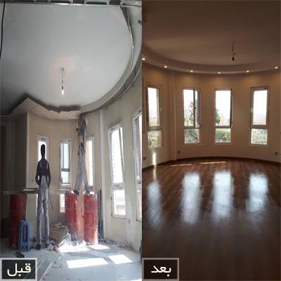 نکات و موارد مهم بازسازی خانه