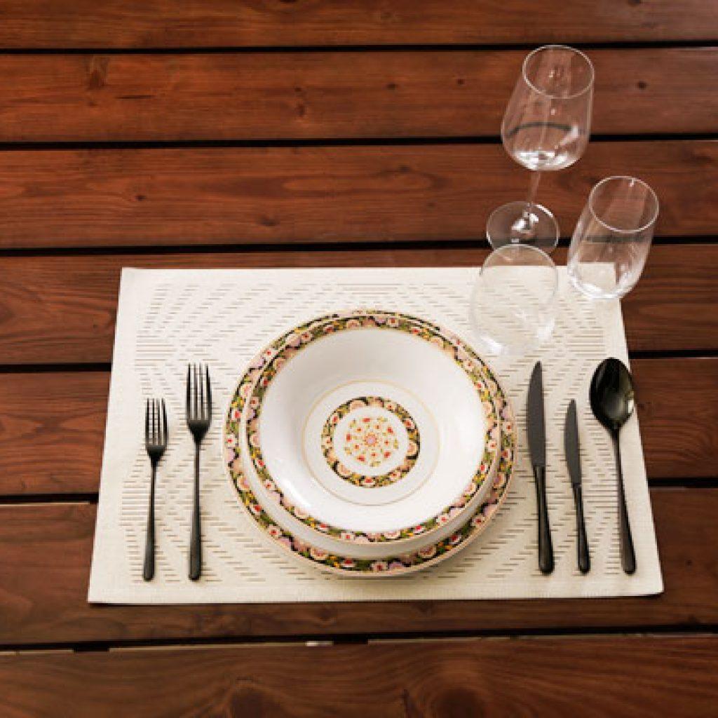 آموزش چیدمان میز شام (غذاخوری) با ایده های نو