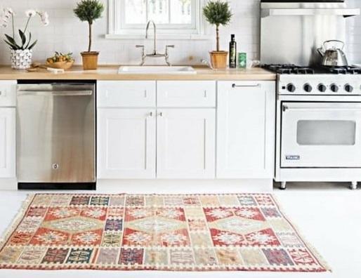 انواع مدل های جدید قالیچه برای آشپزخانه مدرن